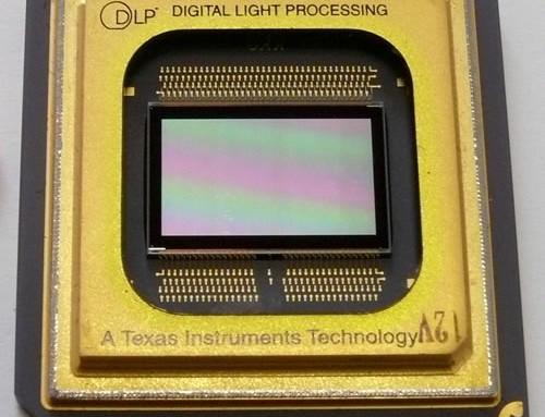 Do czego służy chip dlp w projektorze?