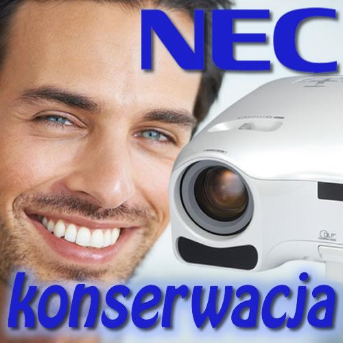 Konserwacja Projektora NEC