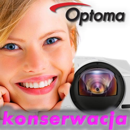Konserwacja Projektora Optoma