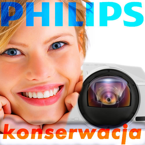 Konserwacja Projektora Philips