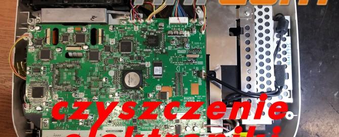 Czyszczenie elektroniki projektora Epson